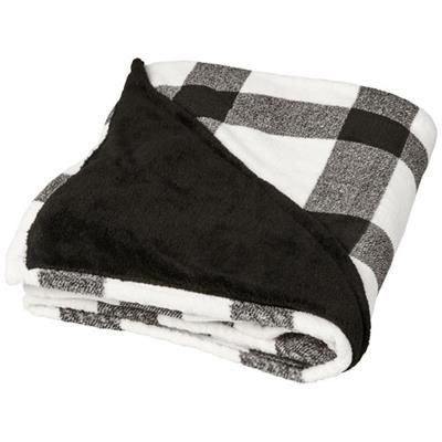 Picture of BUFFALO ULTRA PLUSH PLAID PICNIC BLANKET in White Solid