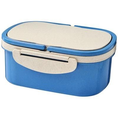 Picture of CRAVE WHEAT STRAW LUNCH BOX in Blue