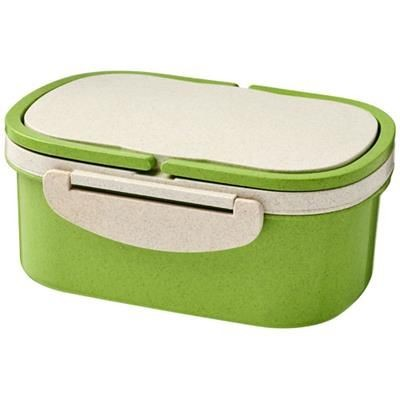 Picture of CRAVE WHEAT STRAW LUNCH BOX in Lime