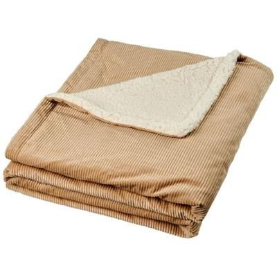 Picture of COSIE CORDUROY SHERPA PICNIC BLANKET in Camel