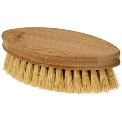 Picture of CLEO OVAL SCRUBBING BRUSH in Natural