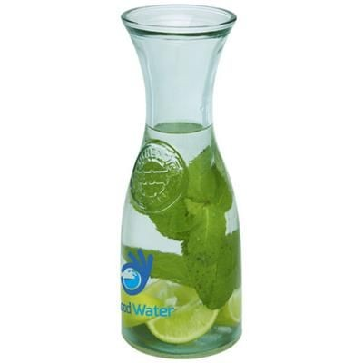 Picture of FRESCO RECYCLED GLASS CARAFE in Transparent Clear Transparent