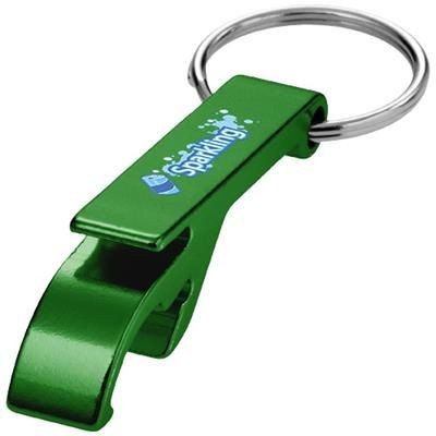 Picture of TAO BOTTLE AND CAN OPENER KEYRING CHAIN in Green