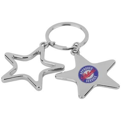 Picture of STAR KEYRING CHAIN in Silver