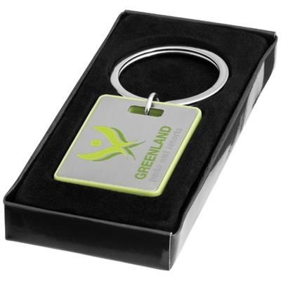 Picture of DONATO KEYRING CHAIN in Silver-green