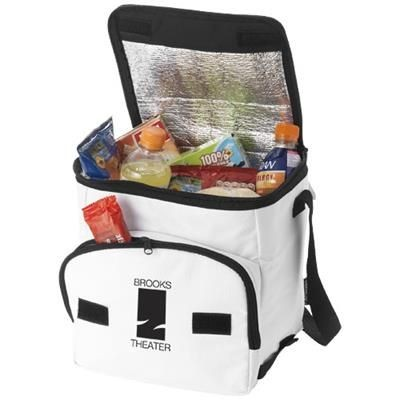 Picture of STOCKHOLM FOLDING COOL BAG in White Solid
