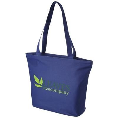 Picture of PANAMA ZIPPERED TOTE BAG in Royal Blue
