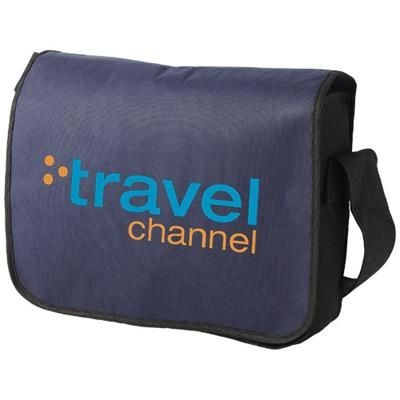 Picture of MISSION NON-WOVEN MESSENGER BAG in Navy