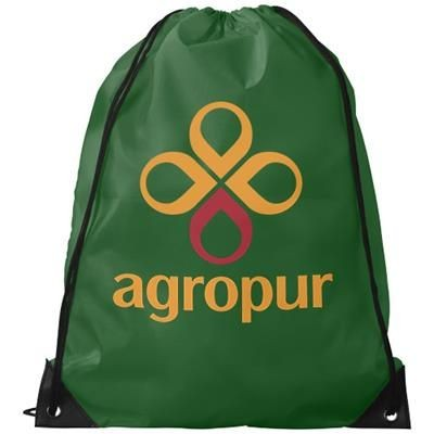 Picture of ORIOLE PREMIUM DRAWSTRING BACKPACK RUCKSACK in Bright Green