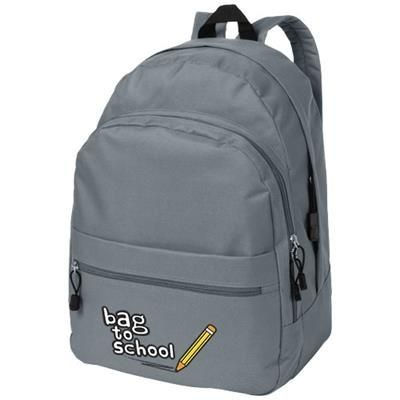 Picture of TREND 4-COMPARTMENT BACKPACK RUCKSACK in Grey