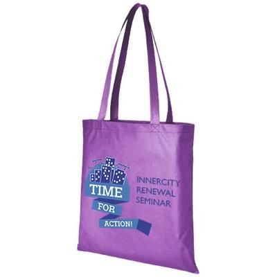 Picture of ZEUS LARGE NON-WOVEN CONVENTION TOTE BAG in Lavender
