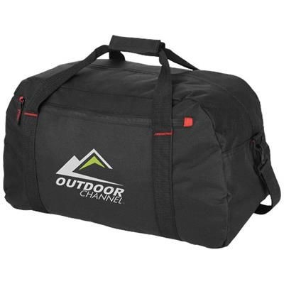 Picture of VANCOUVER TRAVEL DUFFLE BAG in Black Solid