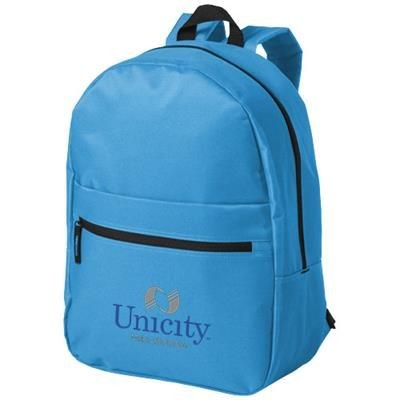 Picture of VANCOUVER DUAL FRONT POCKET BACKPACK RUCKSACK in Blue