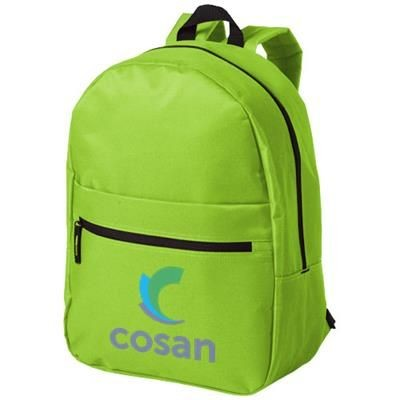 Picture of VANCOUVER DUAL FRONT POCKET BACKPACK RUCKSACK in Apple Green