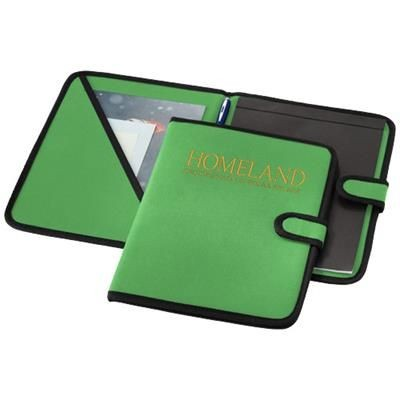 Picture of UNIVERSITY A4 PORTFOLIO in Bright Green