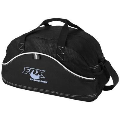 Picture of BOOMERANG DUFFLE BAG in Black Solid