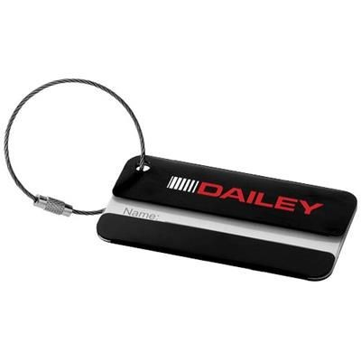 Picture of DISCOVERY LUGGAGE TAG in Black Solid