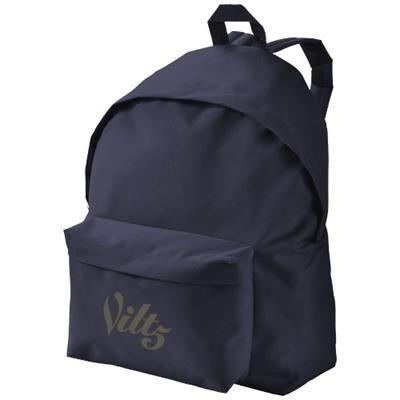 Picture of URBAN COVERED ZIPPER BACKPACK RUCKSACK in Navy