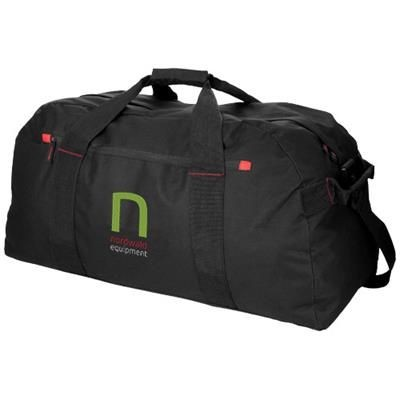 Picture of VANCOUVER EXTRA LARGE TRAVEL DUFFLE BAG in Black Solid