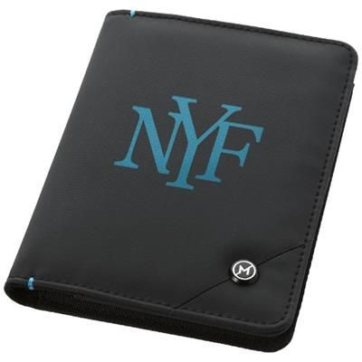 Picture of ODYSSEY RFID SECURE PASSPORT COVER in Black Solid
