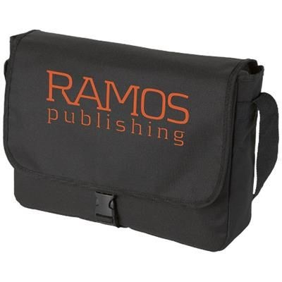 Picture of OMAHA SHOULDER BAG in Black Solid