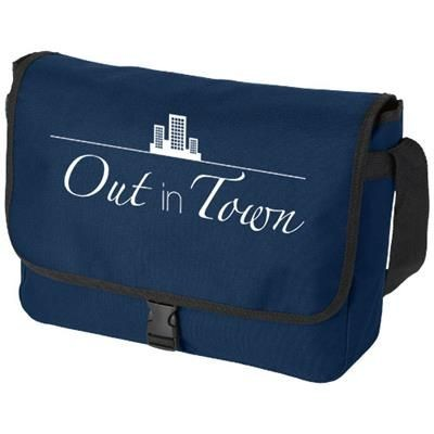 Picture of OMAHA SHOULDER BAG in Navy