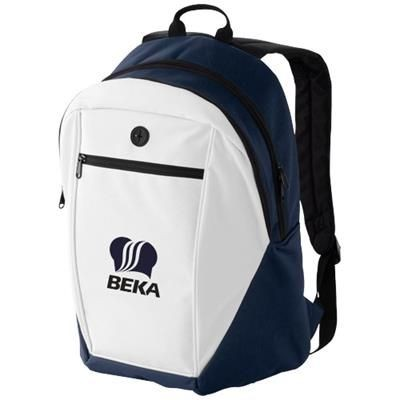 Picture of OZARK HEADPHONES PORT BACKPACK RUCKSACK in Navy