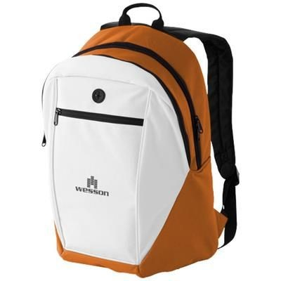 Picture of OZARK HEADPHONES PORT BACKPACK RUCKSACK in Orange