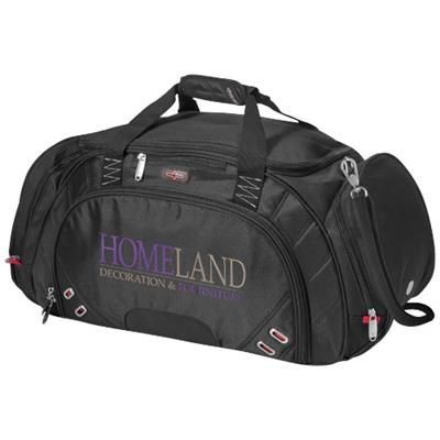 Picture of PROTON TRAVEL DUFFLE BAG in Black Solid