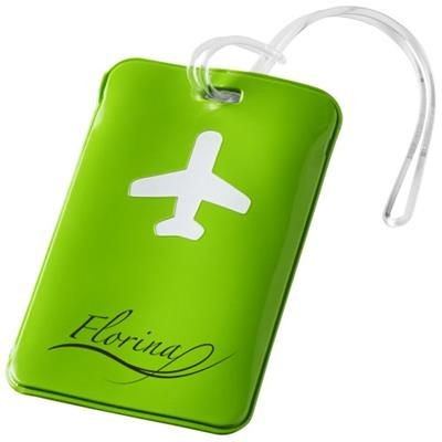 Picture of VOYAGE LUGGAGE TAG in Apple Green