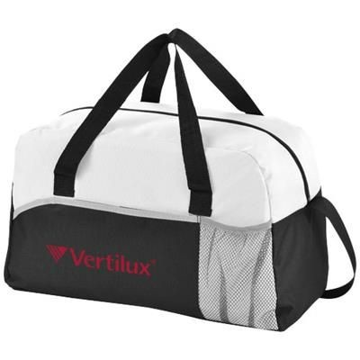 Picture of ENERGY DUFFLE BAG in Black Solid-white Solid