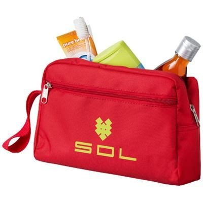 Picture of TRANSIT TOILETRY BAG in Red