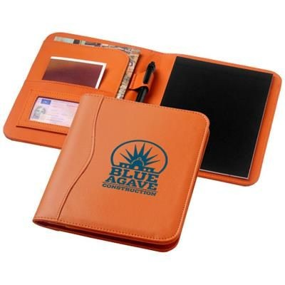 Picture of EBONY A5 PORTFOLIO in Orange