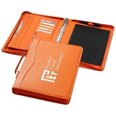 Picture of EBONY A4 BRIEFCASE PORTFOLIO in Orange