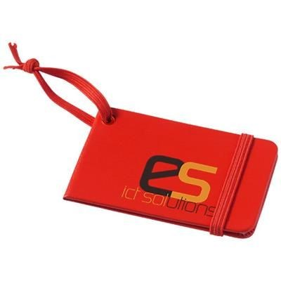 Picture of TRIPZ LUGGAGE TAG in Red