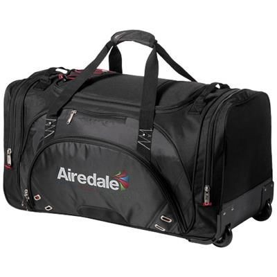 Picture of PROTON DUFFLE BAG with Wheels in Black Solid