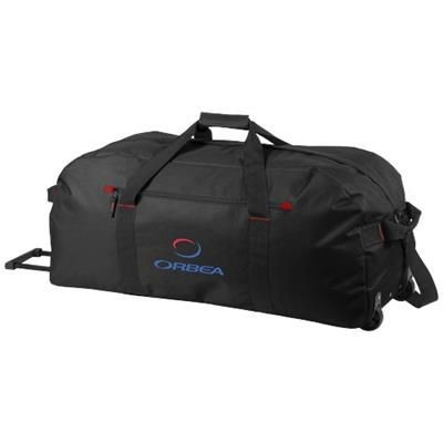 Picture of VANCOUVER TROLLEY TRAVEL BAG in Black Solid