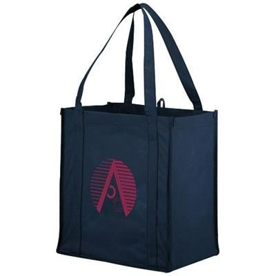 Picture of JUNO SMALL BOTTOM BOARD NON-WOVEN TOTE BAG in Navy