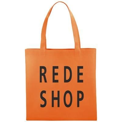 Picture of NON WOVEN SMALL ZEUS CONVENTION TOTE in Orange