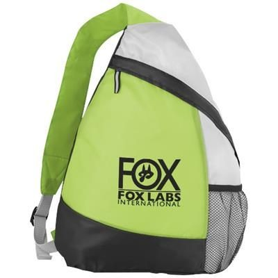 Picture of ARMADA SLING BACKPACK RUCKSACK in Lime