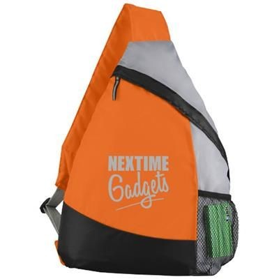 Picture of ARMADA SLING BACKPACK RUCKSACK in Orange