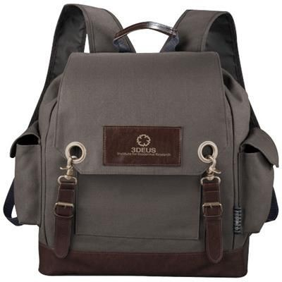 Picture of CLASSIC BACKPACK RUCKSACK in Grey