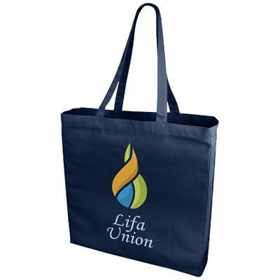 Picture of ODESSA 220 G-M² COTTON TOTE BAG in Navy