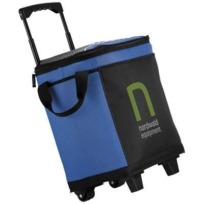 Picture of 32-CAN ROLLING COOLER   in Royal Blue-black Solid