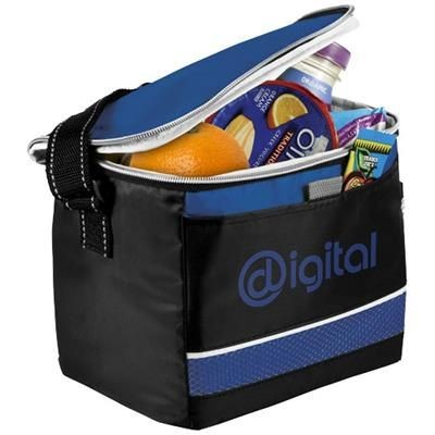 Picture of LEVY SPORTS COOL BAG in Black Solid-royal Blue