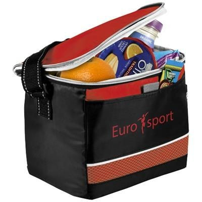 Picture of LEVY SPORTS COOL BAG in Black Solid-red