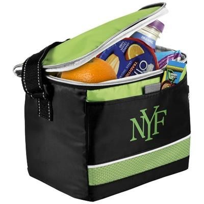 Picture of LEVY SPORTS COOL BAG in Black Solid-green