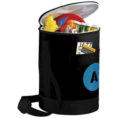 Picture of BUCCO BARREL COOL BAG in Black Solid