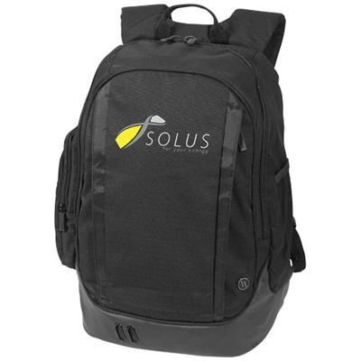 Picture of CORE 15 LAPTOP BACKPACK RUCKSACK in Black Solid