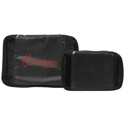 Picture of PACKING CUBES SET OF in Black Solid